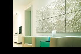 decorative 3d art wall panel come with flower inspired 3d art