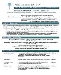 nursing resume template new grad resume inspiration registered resume new