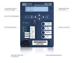 sel 735 power quality and revenue meter schweitzer engineering