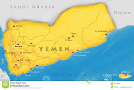 Yemen On World Map by Republic Of Yemen Map Stock Image Image 33555681