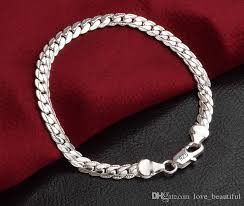 bracelet silver price images Silver bracelets for men 2018 low price promotion mark 925 jpg