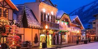 22 christmas towns usa christmas towns america