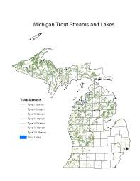 Map Of Michigan Lakes Significantly Enhance Our Ability To Characterize And Model Michigan