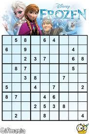 frozen sudoku activity