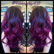pink purple ombré balayage and long layer haircut yelp