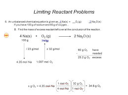 chemistry a study of matter worksheet limiting reactants answers
