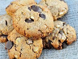 paleo dark chocolate chip walnut cookies fed u0026 fit