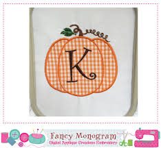 thanksgiving letters pumpkin monogram a z applique thanksgiving letters applique