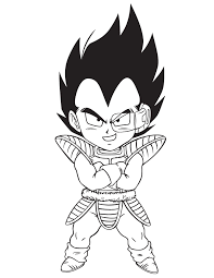 dragon ball vegeta coloring u0026 coloring pages