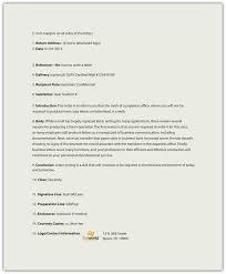 Business Letter Return Address letters business communication