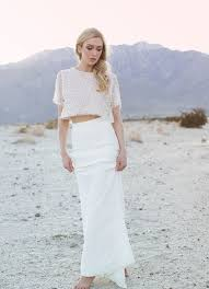 wedding dress separates skirt 10 gorgeous two wedding dresses that aren t crop tops