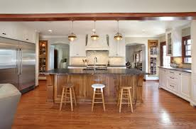 hickory kitchen cabinets with natural cabinetry fireplace slate