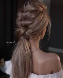no fuss wedding day hairstyles best 25 wedding ponytail hairstyles ideas on pinterest wedding