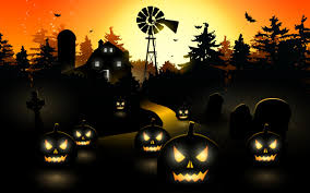 pixel halloween background wallpapers for cute happy halloween resolution 1920x1080