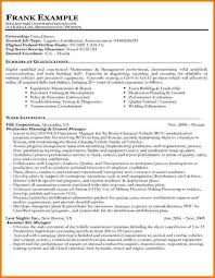 Resume Security Clearance Example by Federal Resume Example