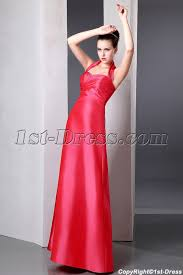 halter bridesmaid dresses inexpensive coral a line taffeta bridesmaid dresses