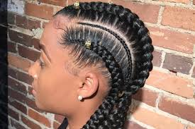 how to do feed in braids youtube