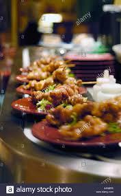japanese cuisine bar japanese food dishes rotating on a sushi bar restaurant conveyor