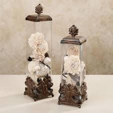 Home Decorative Accents Herston Decorative Covered Jar Set