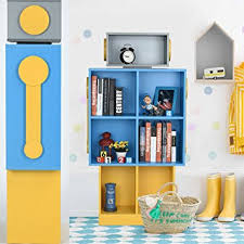 Children S Bookshelf Amazon Com Children U0027s Bookshelf Vogue Carpenter Robot Floor