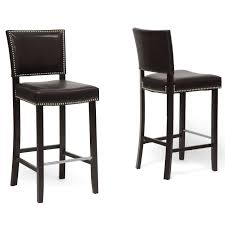 Furniture Best Furniture Counter Stools by Amazon Com Baxton Studio Aries Modern Bar Stool With Nail Head