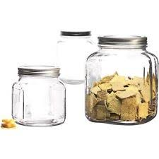 glass kitchen canister sets ebay