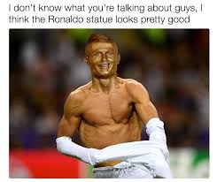 Cristiano Ronaldo Meme - just like him cristiano ronaldo bust know your meme