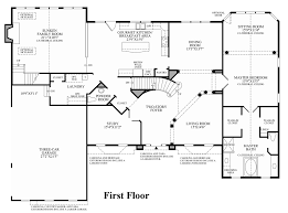 pictures on center hall colonial floor plan free home designs