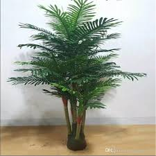 2018 wholsale china artificial areca palm tree potted plants