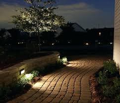kichler led landscape lighting kits ideas low voltage home depot