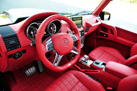 mercedes benz g class interior brabus b63s mercedes benz g class 6x6 red interior by tkasabov2 on