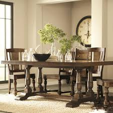 Allens Furniture Omaha Ne by Riverside Furniture Newburgh 7 Piece Rectangular Dining Table And