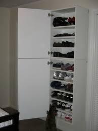 diy shoe organizer for small closet home design ideas