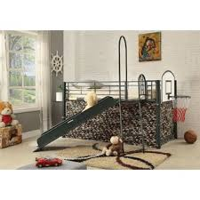 girls playhouse loft bed wayfair