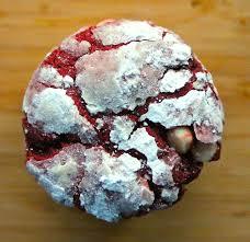 sarah u0027s red velvet crinkle cookies