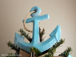 unique tree topper unique ways to decorate a nautical christmas tree an