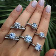 types of wedding ring what are the different types of engagement rings raymond
