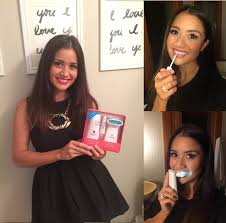 luster pro light teeth whitening system reviews getting a safe summertime glow white teeth like catherine lowe