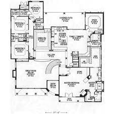 large single story house plans one single story house home floor plans plan weber design group