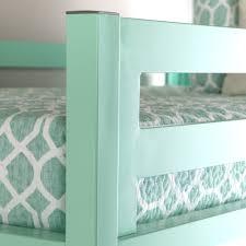 turquoise bentley bentley twin loft bed mint by walker edison