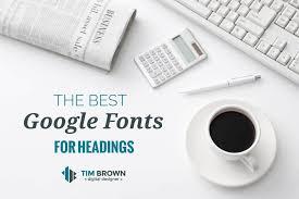 best fonts for headings hook agency