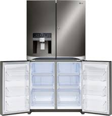 Glass Door Refrigerator Freezer For Home Lg Lpxs30866s 36 Inch French Door Refrigerator With 30 Cu Ft