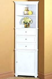 White Corner Cabinet Bathroom Corner Chest Corner Storage Cabinet Corner Cabinet View Larger