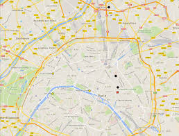 Live Attack Map Paris Attacks This Map Shows Where The Attacks Happened Time