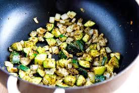 Mediterranean Vegan Kitchen - low carb mediterranean spaghetti squash sauteed with vegetables