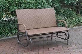 Patio Loveseat Glider Glider Loveseat Outdoor Bench Outdoor Furniture Showroom