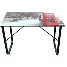bureau plateau en verre plaque de bureau en verre bureau plaque de verre bureau plateau