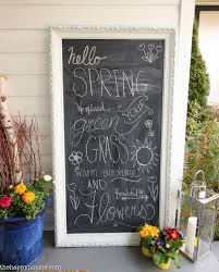 Spring Wreath Ideas Our Spring Front Porch U0026 Beautiful Spring Wreaths The Happy Housie