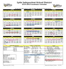 lytle isd lytle isd news approved 2014 2015 academic calendar