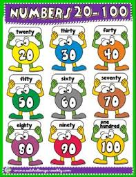 numbers in english clipart clipartxtras
